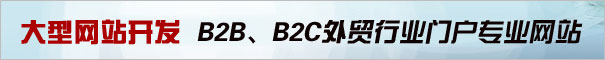 B2B网站,B2C网站,行业网站,商贸网站开发